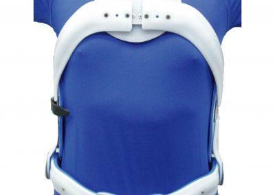 樹脂三點式背架